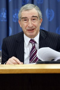 Sir Nigel Rodley, member of the committee